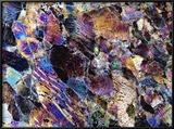 Pyroxenite Rock  Light Micrograph