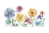 Jardin Transparente Reproduction d'art par Studio Rofino