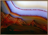 Banded Texture In Agate