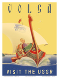 Volga - Visit the USSR - Russian River Cruise