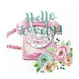 Hello Lovely! Reproduction d'art par Studio Rofino
