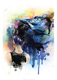 Ocean Dreams Reproduction d'art par Lora Zombie