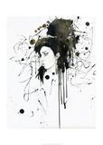 Amy Reproduction d'art par Lora Zombie