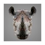 Rhinoceros Low Poly Portrait