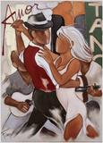 Tango Di Amor Reproduction d'art par Pierre Farel