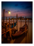 Venice Gondolas At Sunrise