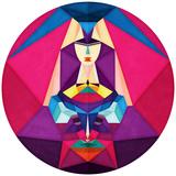 Libelula Reproduction d'art par Anai Greog