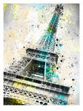 City Art Paris Eiffel Tower IV Reproduction d'art par Melanie Viola