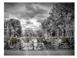 Typical Amsterdam Reproduction d'art par Melanie Viola