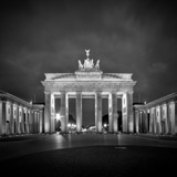 Berlin Brandenburg Gate Reproduction d'art par Melanie Viola