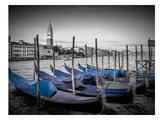 Venice Grand Canal & St Mark's Campanile II Reproduction d'art par Melanie Viola