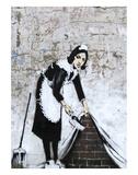 Chamber Maid Reproduction d'art par Banksy