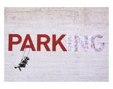 Parking Reproduction d'art par Banksy