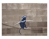 Tightrope Reproduction d'art par Banksy