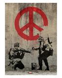 Paix Reproduction d'art par Banksy