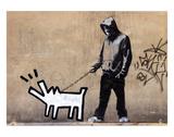 Chien Reproduction d'art par Banksy