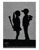 War Children Reproduction d'art par Banksy