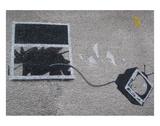 Out the window Reproduction d'art par Banksy