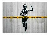 Do not cross Giclée par Banksy
