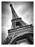 Paris Eiffel Tower Dynamic Reproduction d'art par Melanie Viola