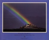 Rainbow Over The Potala Palace