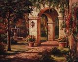 Arch Courtyard I