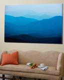 Blue Mountains  Blue Ridge Parkway  Virginia