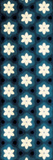 Floral Blue Glow Reproduction d'art par Jace Grey