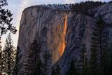 Firefall Magic South View 2016  Horsetail Falls  Yosemite National Park