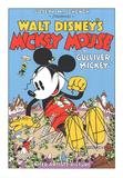 Walt Disney's Mickey Mouse-Gulliver Mickey Sérigraphie par Unknown