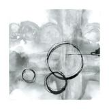 Full Circle II Gray Reproduction d'art par Chris Paschke
