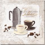 Espresso Bar Tableau sur toile par C. Ancilotti