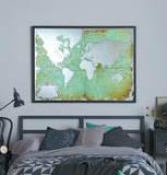Mirrored World Map