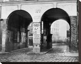Paris  about 1865 - The Double Doorway  rue de la Ferronnerie