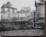 Paris  1865 - The Impasse de l'Essai at the Horse Market