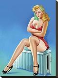 Mid-Century Pin-Ups - Wink Magazine - Warm Thoughts