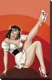 Mid-Century Pin-Ups - Titter Magazine - Winking Brunette