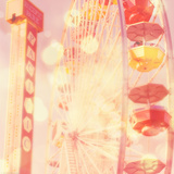 Carnival Lights on a Big Wheel