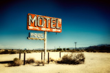 Motel Roadside Sign