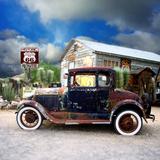 Old Rusty Car in America