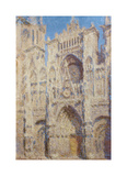 Rouen Cathedral The portal and the Tour Saint-Romain  Full Sun  1893