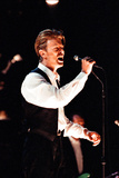 David Bowie Performing at the Birmingham Nec  as Part of His 1990 Sound and Vision World Tour
