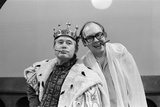 Ernie Wise and Eric Morecambe Inthe Morecambe and Wise Christmas Tv Show 1980