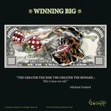 $1 000 Bill Winning Big