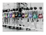 Coney Island Line Up  1935