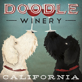 Doodle Wine Reproduction d'art par Ryan Fowler