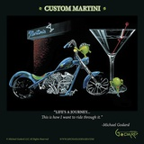 Custom Martini Reproduction d'art par Michael Godard