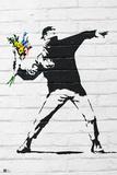 Flower Bomber Reproduction d'art par Banksy