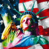 Liberty Reproduction d'art par Patrice Murciano