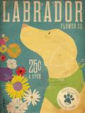 Labrador Flower Co. Reproduction d'art par Stephen Fowler